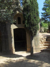 Cemtery of Olius - Mausoleum with chapel