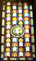 Gaud�: Palau G�ell  Stained glass