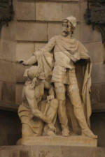 Eduard B. Alentorn: Capitaine Margarit  Monument � Colomb - Barcelone