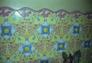 A Wall ceramic in Nav�s House (a work of Llu�s Dom�nech i Montaner) in Reus