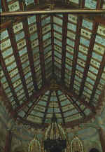 Matar�: Can Bartra Chapel ceiling