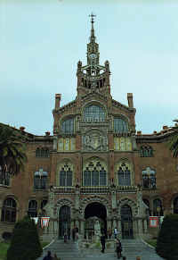 Dom�nech i Montaner: Hospital de Sant Pau (Saint Paul Hospital)