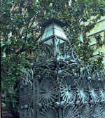 Gaud�   Casa Vicens   Lantern and grating