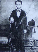 Isaac Alb�niz at the age of thirteen