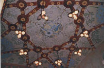 Institut Pere Mata in Reus by the architect L. Dom�nech i Montaner. Music room roof. Ceramics decorated by L. Br�