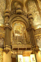 Riquer  Decoration  Apse of the Montserrat church   Photographer Daniel Rovira