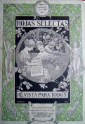 "Riquer: Title page for the review ""Hojas Selectas"" (Selected pages)"