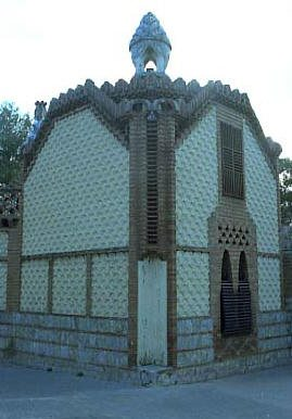 G Pavellons Guell Pavello esquerra