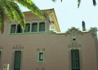 G_Park_Guell_Casa_Gaudi_vista_des_de_cami
