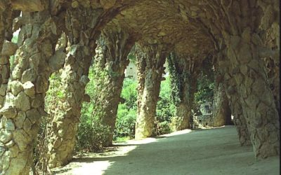 Park Guell – Paths and Viaducts
