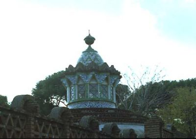 G_Pavellons_Guell_Cupula