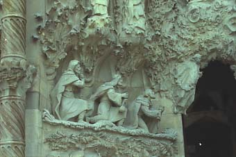 Sagrada Familia – Nativity Facade