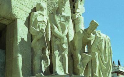 Sagrada Familia – Passion Facade