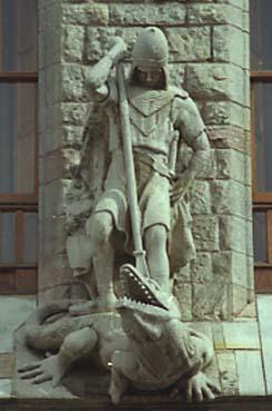 Gaudi Casa Botines Sant Jordi