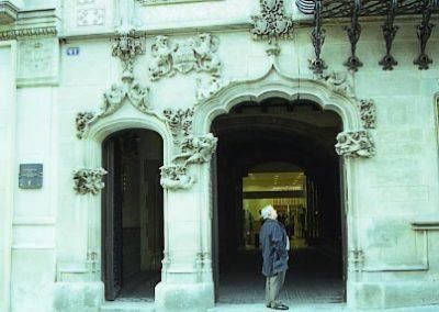 PiC_Casa_Amatller_Porta_principal
