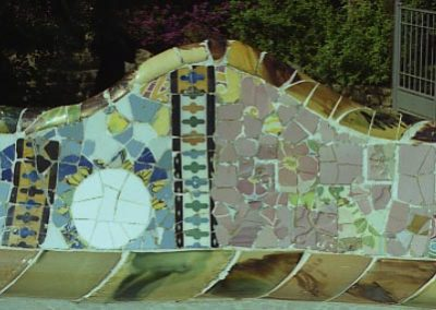 G Park Guell Banc v frontal 1