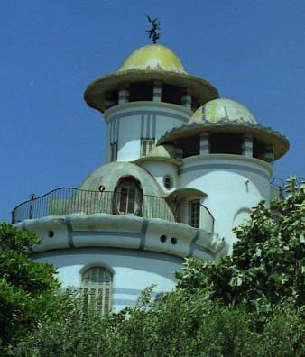 Jujol Torre de la Creu Vista posterior 4
