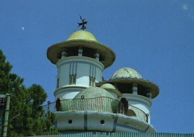 Jujol Torre de la Creu Vista posterior
