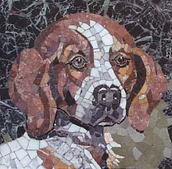 Mosaic Wilma la gossa de L. Bru