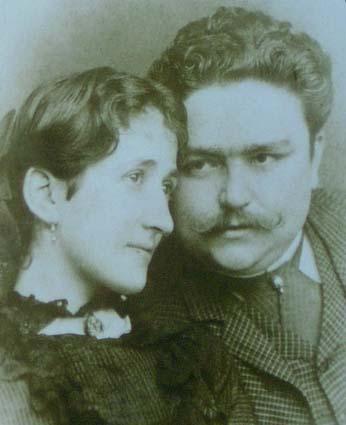 Museu Albeniz Albeniz i la seva muller
