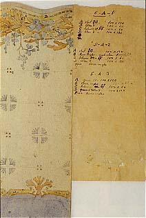 Projecte a laquarela ca. 1910 L.Bru