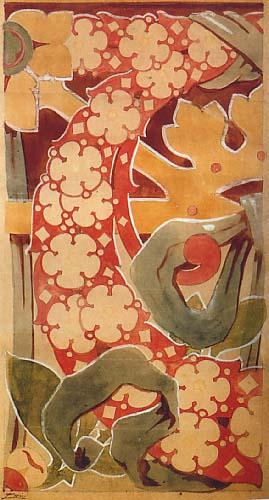 Projecte llapis i aquarela Arrimador n 30 de P. i B. L. Bru