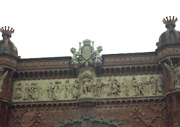 Reynes Arc Triomf Barcelona rep les nacions 2