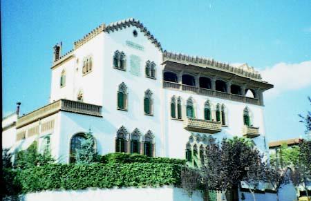 Joan Rubió i Bellver: Roviralta House (El Frare Blanc)