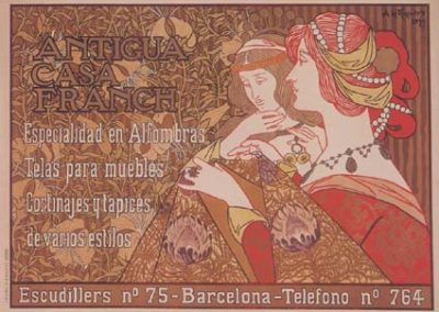 Riquer Cartells Antigua Casa Franch b