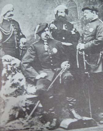 Riquer Familia El seu pare amb Carles VII