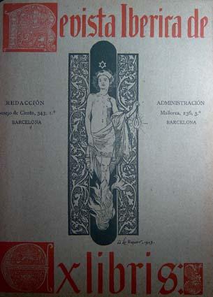 Riquer Ilustracions Revista Iberica de Exlibris