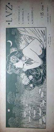 Riquer Ilustracions Revista Luz3 vert