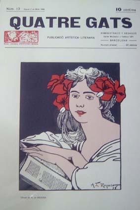 Riquer Ilustracions Revista Quatre Gats