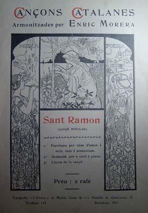 Riquer Ilustracions per Cancons catalanes