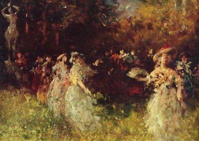 Riquer Pintura Festa de Watteau rr des