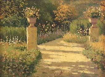 Riquer Pintura Jardi dAranjuez 1913 rr des
