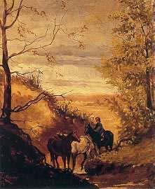 Riquer Pintura Paisatge de la Segarra