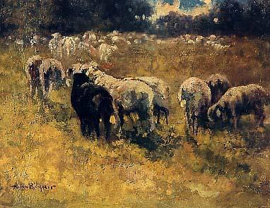 Riquer Pintura Ramat prop d'Oloron 1911 rr des