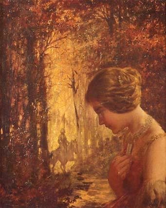Riquer Pintura Viviana al bosc encantat rr des