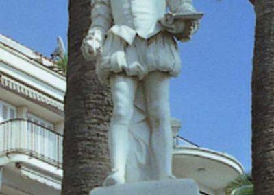Sitges Monument al Greco detall