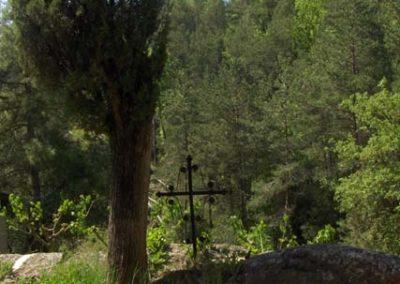 Cementiri Olius Creu de ferro 1