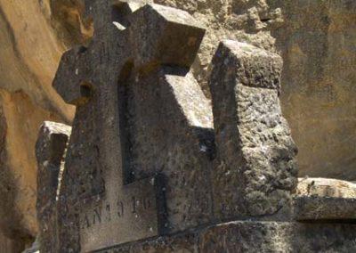 Cementiri Olius Panteo detall