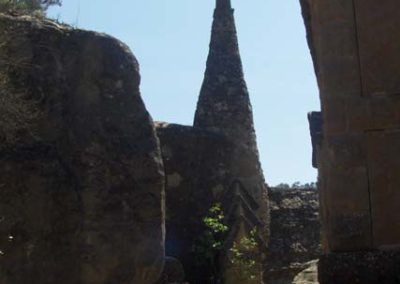 Cementiri Olius Panteons i creu