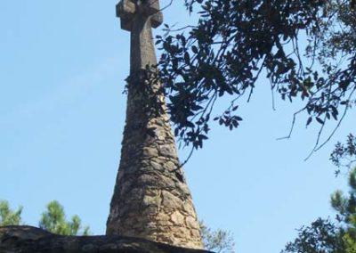 Cementiri Olius Vista cap a creu 2