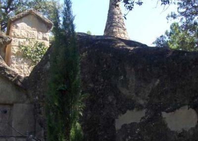Cementiri Olius Vista cap a creu