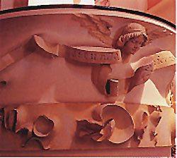 Jujol Esglesia S J Baptista de S J Despi Pulpit 2